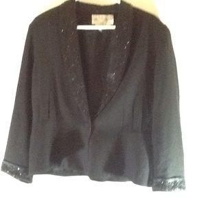 Macy's | Jacket | Black | Size 16